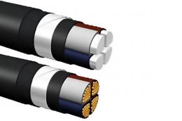 Бронированный силовой кабель