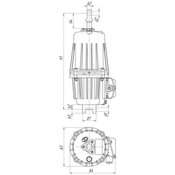 Толкатель электрогидравлический ТЭ-50