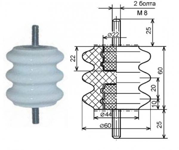 Изолятор СА-3 (армир.)