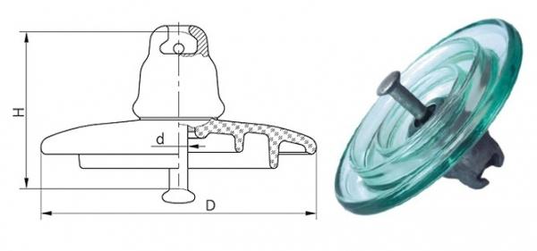 Изолятор ПС-70Е