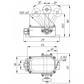 Выключатель путевой КУ-701-СУ У2