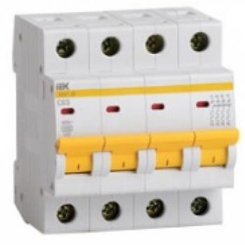 Автоматический выключатель 4-полюсный